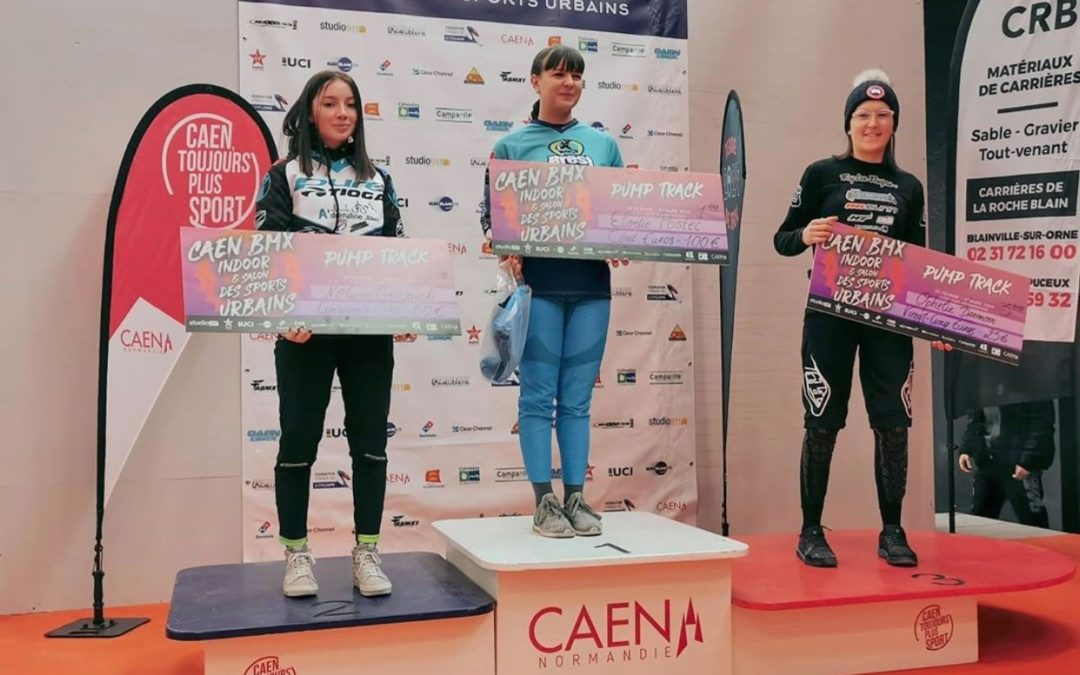 ITW : Élodie Postec Gagnante Pump Track Indoor de caen 2020