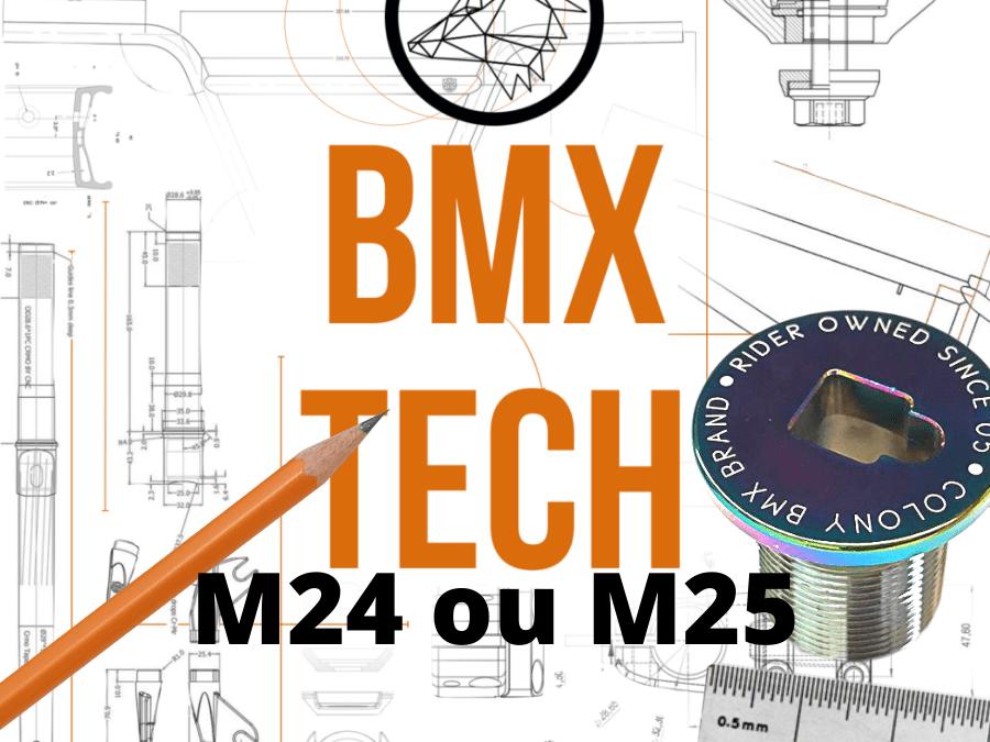 BMX TECH : Bouchon de fourche 24 ou 25 ?