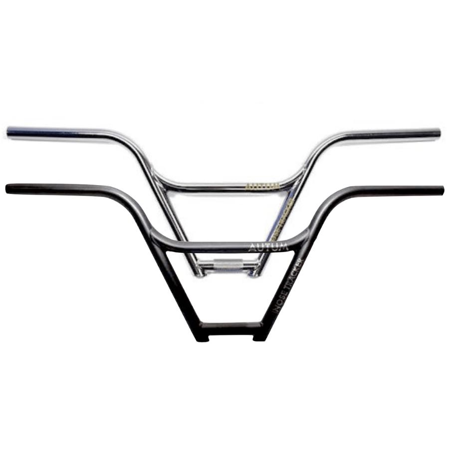 environ 24.13 cm S/&M Hoder Guidon Barres 9.5 in montée pour Bmx Freestyle Vélo Chrome Noir Bleu