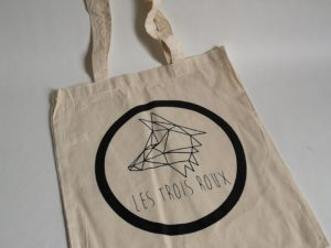 Tote Bag LES TROIS ROUX