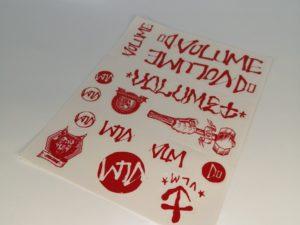 stickers volume