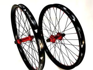 Paire de roues PREMIUM Samsara K7 Red / Black