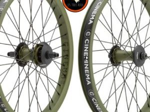 Paire de roues CINEMA FX2 & VX2 -C38 Army Green Dak