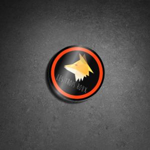 les trois roux stikers logo