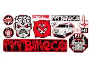 Pack Stickers FIT Bike co Sheet V.2