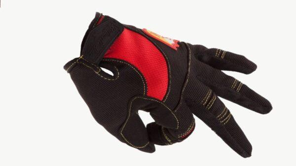 Gants Biltwell x S&M Shield Black / Red