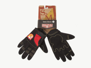 Gants Biltwell x S&M Shield Black / Red