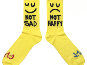 chaussettes-cult-this-night-yellow