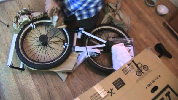 Montage d'un vélo Complet