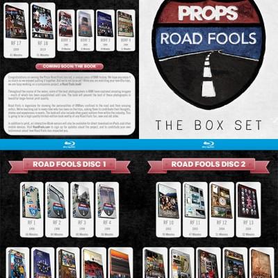 Blu Ray PROPS Box Set Megatour Road Fools