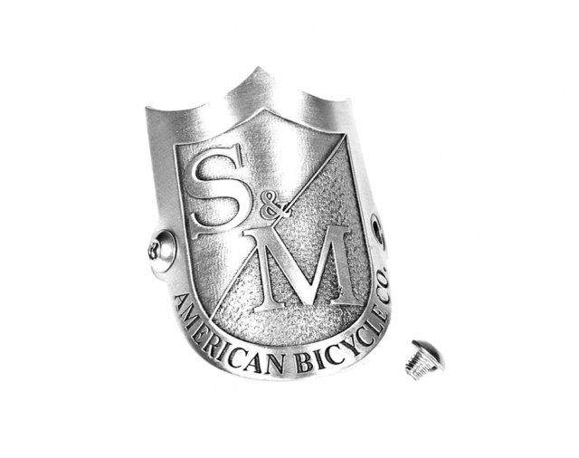 S/&M BMX Hip Flask bouclier argent