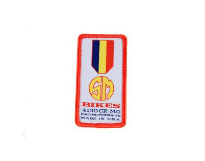 sandm patch gold medal bmx