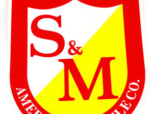 Sticker S&M Big Shield