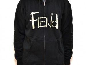 sweat-capuche-zip-fiend-logo-black
