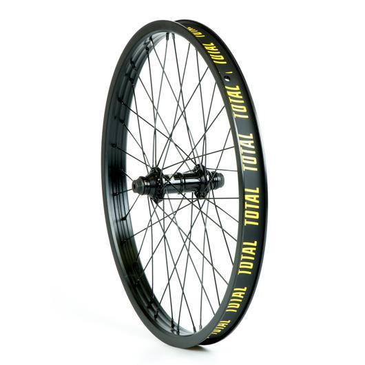 total-bmx-techfire-front-wheel-black