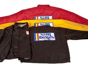 Jacket Windbreaker S&M Coache Gold Medal Moto
