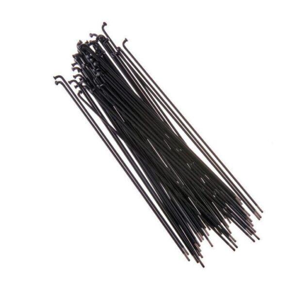 Pack BSD de 40 Rayons Straight Gauge Regular Black