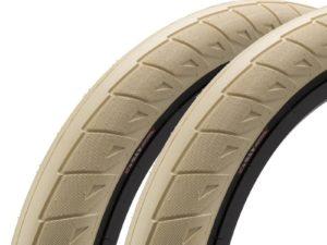 "Paire de pneus CINEMA Nathan Williams 20 x 2.50"" Red"